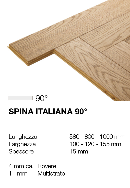 Spina italiana - Rovere