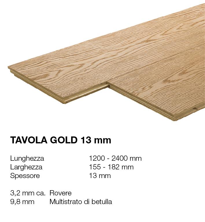Tavola Gold 13 - Rovere